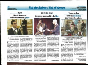 REVIEW CONCERT FRANK ANTHONY FRANCE